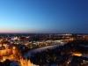 Luebeck bei Nacht im Winter Februar 2012